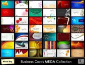 csoportja, üzleti kártyák eps 10 formátumban.