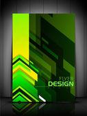 profesionální obchodní leták šablona, brožuru nebo obal design o
