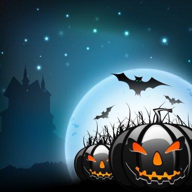 Halloween background. EPS 10.