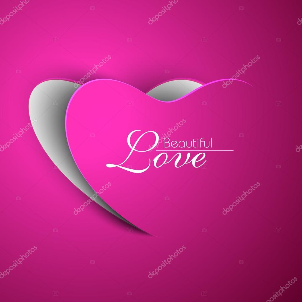 Valentine Heart. EPS 10.