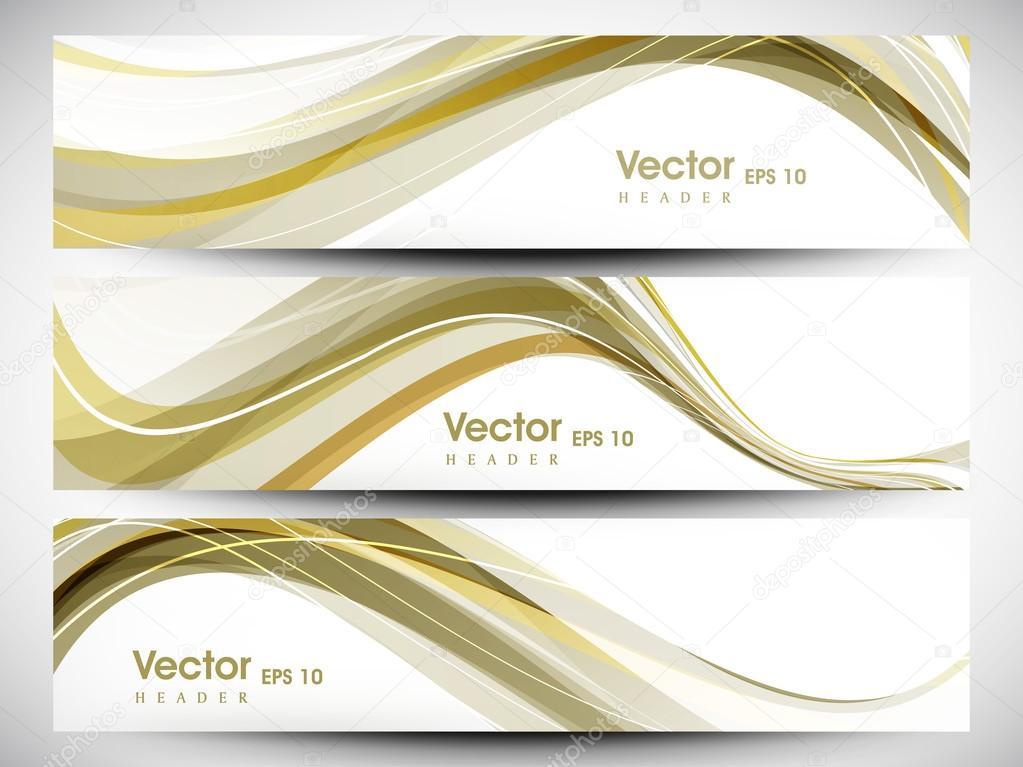 Encabezado De Página Web O Banner Con Hermoso Diseño