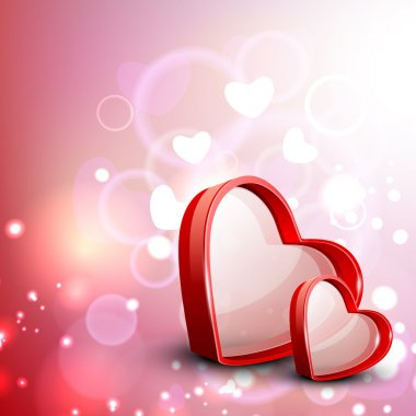 Valentine Heart, Love Concept. EPS 10. clip art vector
