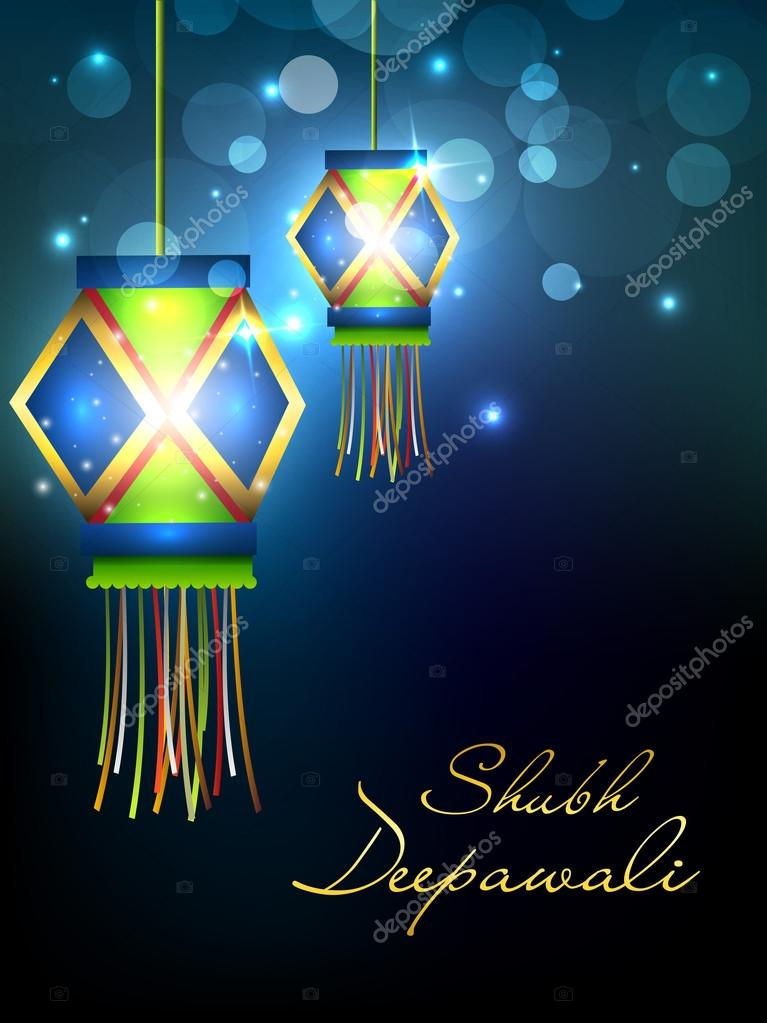 Lampe Suspendue Pour Le Festival De Diwali En Inde Eps 10 Image