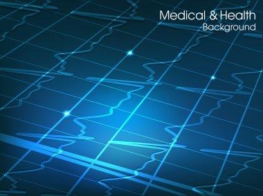 Medical background. EPS 10.