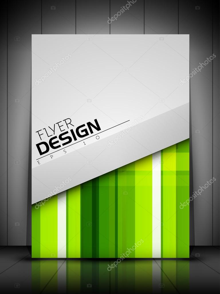 Professional business flyer template or corporate banner design,