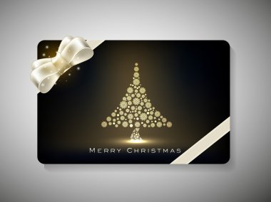 Gift card for Merry Chrsitmas. EPS 10.