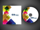 CD obal design pro vaše podnikání. EPS 10