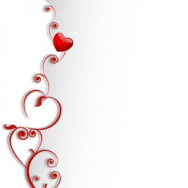 Happy Valentines Day background, greeting card or gift card, love concept. EPS 10. clip art vector