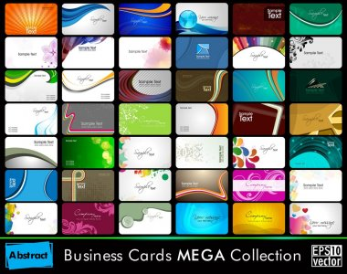 Set of Business cards in Eps 10 format.