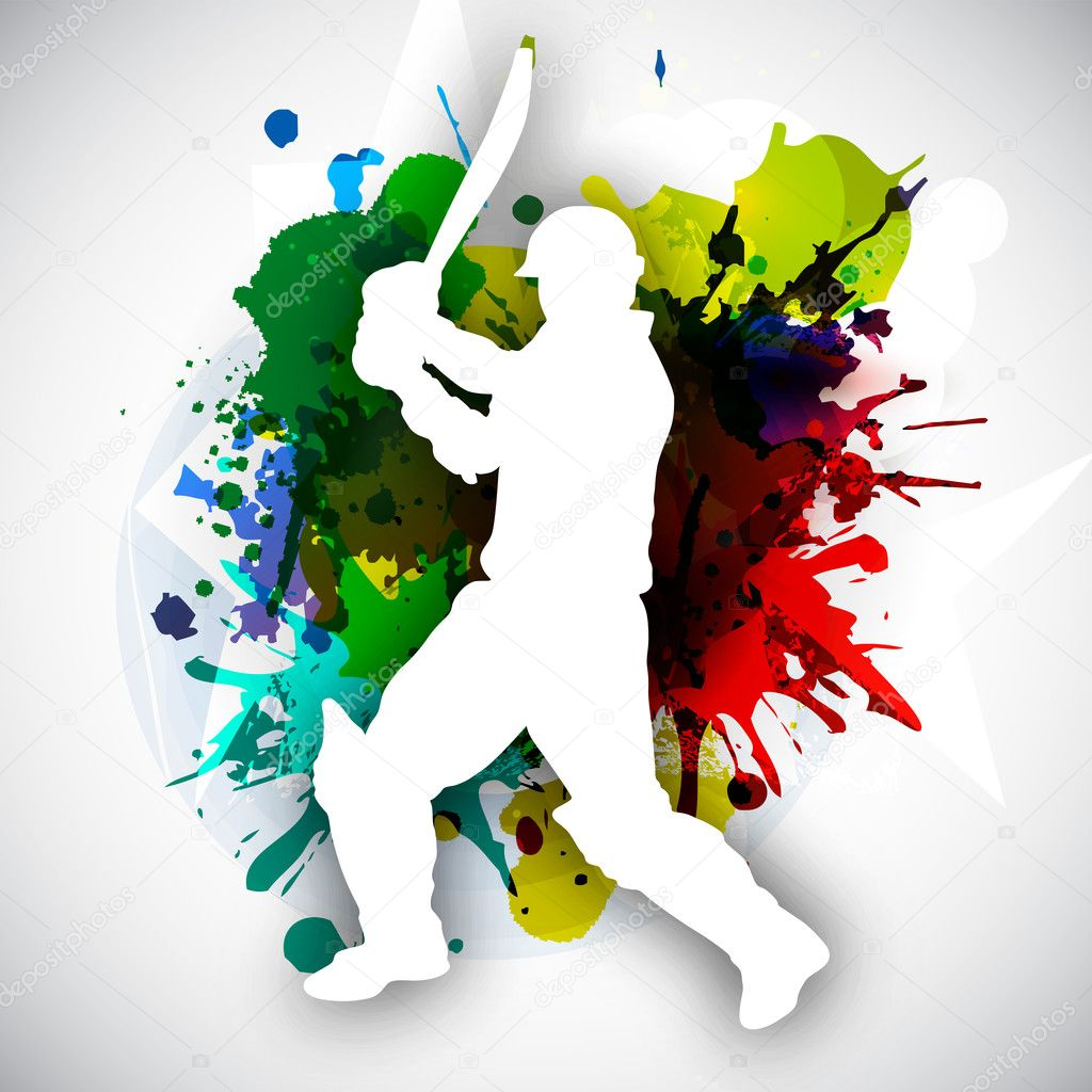 Image result for cricket illustration""