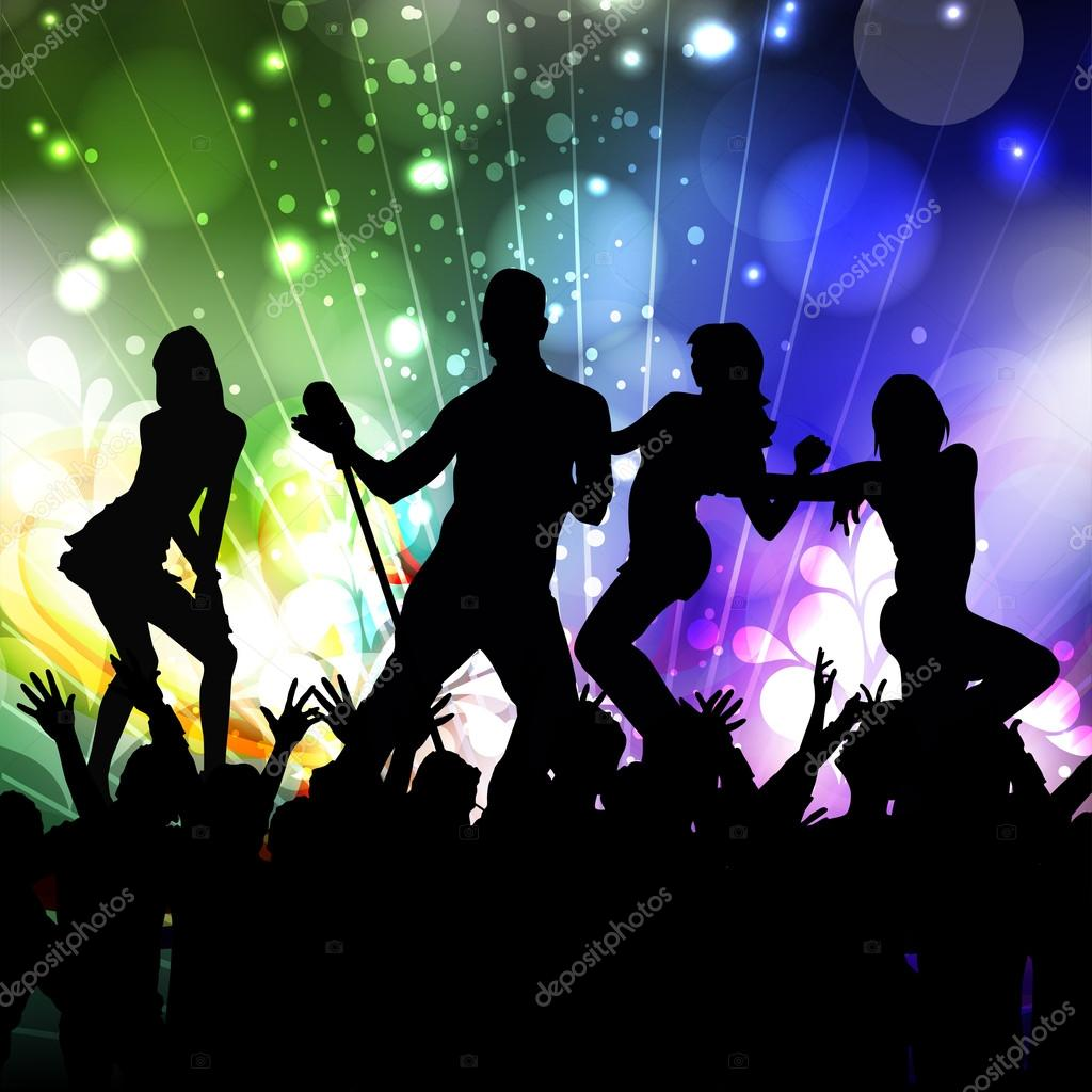 Musical Dance Party Background Flyer Or Banner Stock Vector C Alliesinteract 22917118