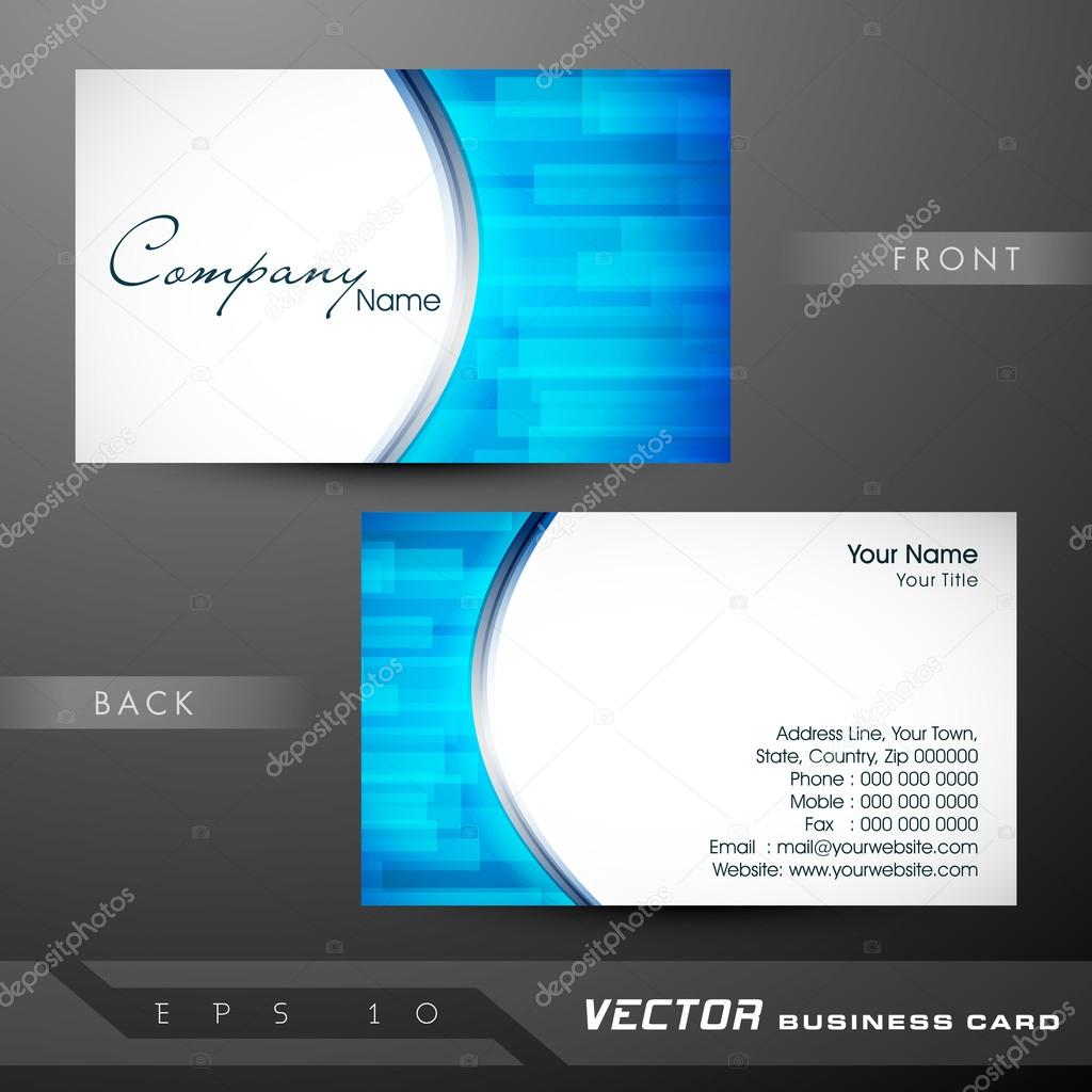Professional and designer business card template or visiting car professional and designer business card template or visiting car stock vector reheart Gallery