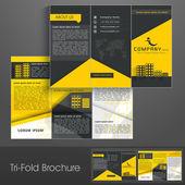 Professionelle Business drei Falten Vorlage Flyer corporate broch