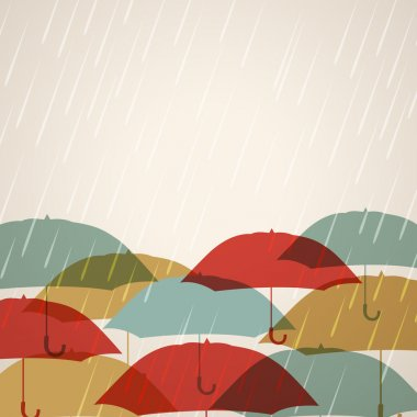 Abstract rainy season background.
