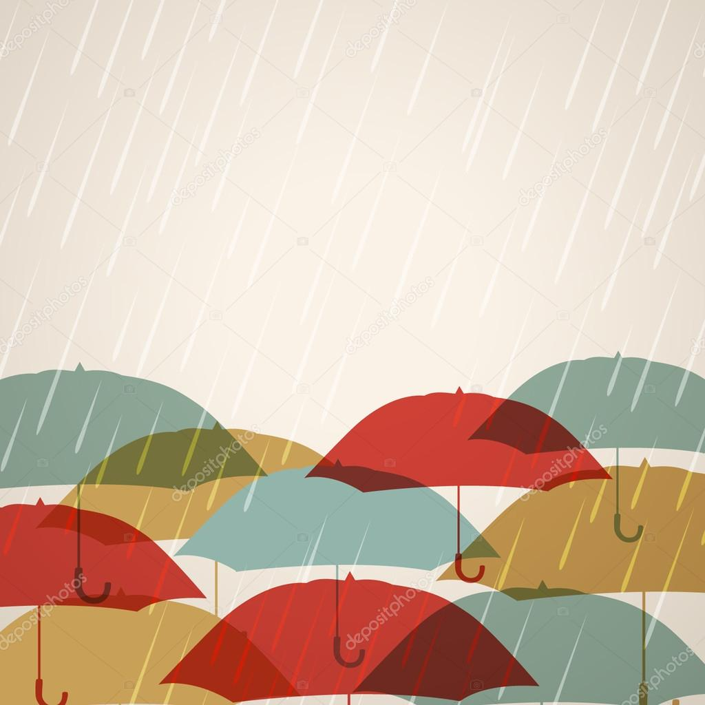 Abstract rainy season background.
