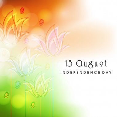 15th August Indian Independence Day background.