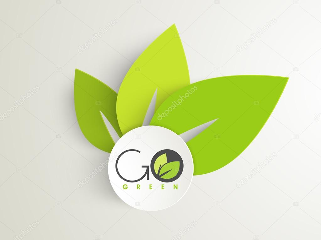 Nature background, eco friendly concept.