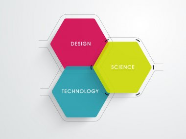 Science concept, education background.