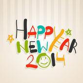 šťastný nový rok 2014 oslava pozadí.