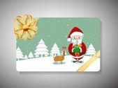 boldog új évet 2014 és vidám karácsonyi ünneplés ajándék kártya