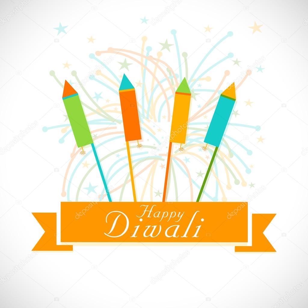 Diwali celebration with fireworks.