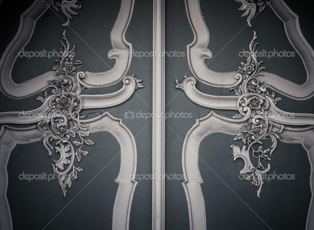 Decoratie Aan De Muur.Houten Decoratie Op Een Muur Stockfoto C Nejron 36577871