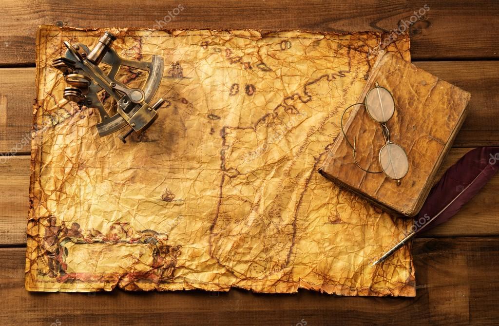 Старые древние книги с золотой страниц на абстрактный фон