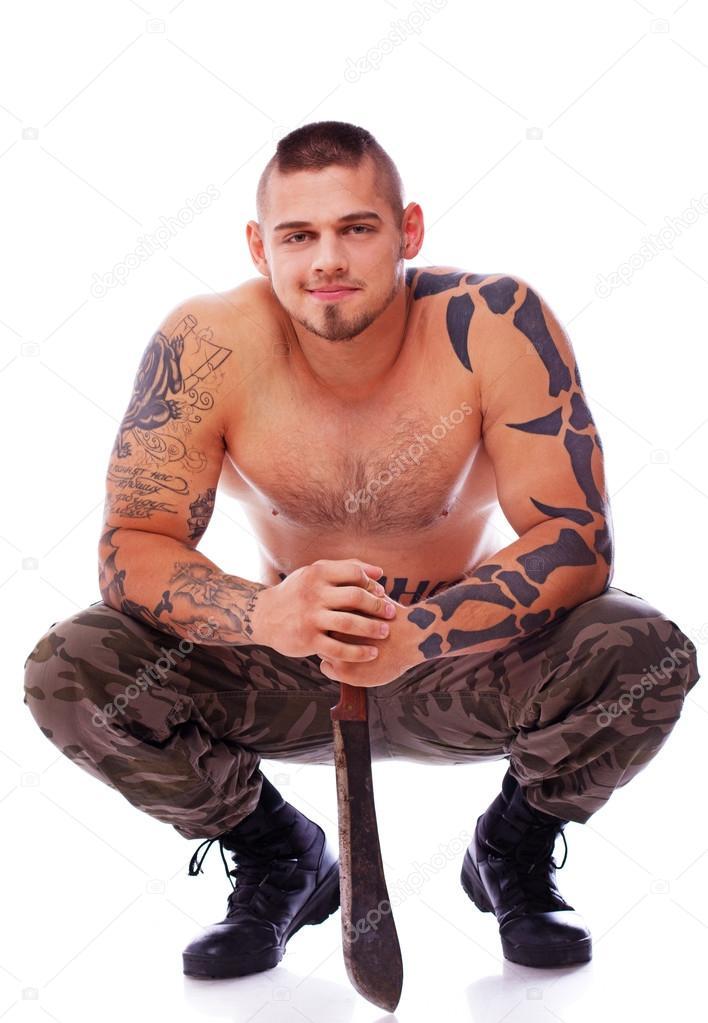 Фото мускулистые военные фото 534-150