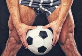 Photo Man with ball