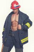 Fotografie svalové hasič