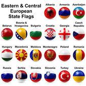 Fotografia bandiere di palla