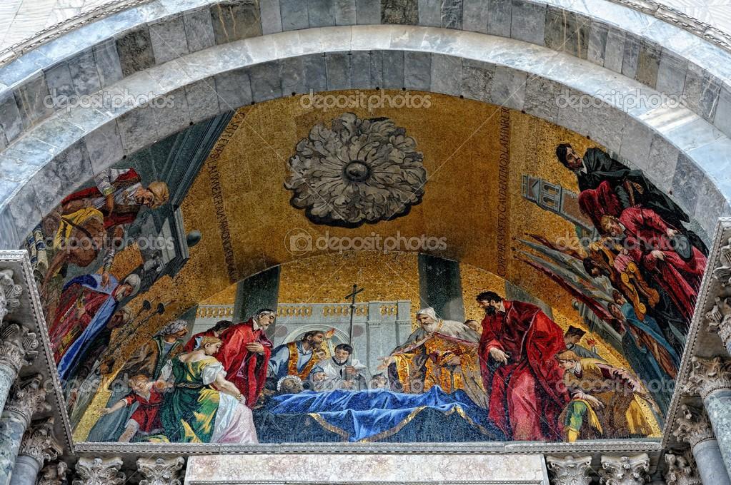mosaico da Catedral de São Marcos em Veneza — Stock Photo © pilgrim ...
