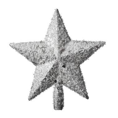 Golden Christmas star decoration