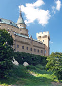 Romantický věže hradu bojnice, Slovensko
