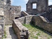 Fotografie konzervované interiér hradu strecno