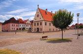 Fotografie historické radnice v Bardějově, Slovensko