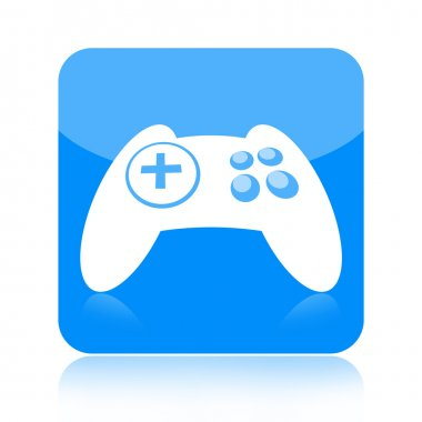 Game controller icon isolated on white background stock vector