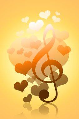 Love, Hearts, Fall, Music