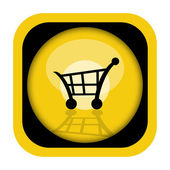 Fotografie nákupní košík ikona