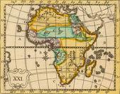 Fotografie Antique map of Africa.