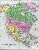 Fotografie Antique map of North America