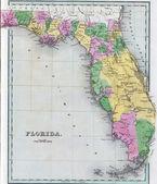 Fotografie Antique map of Florida