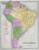 Fotografie Antique map of South America