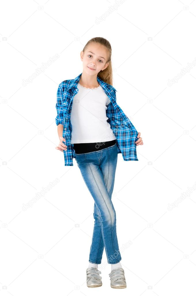 Девушка в джинсах фото — 8