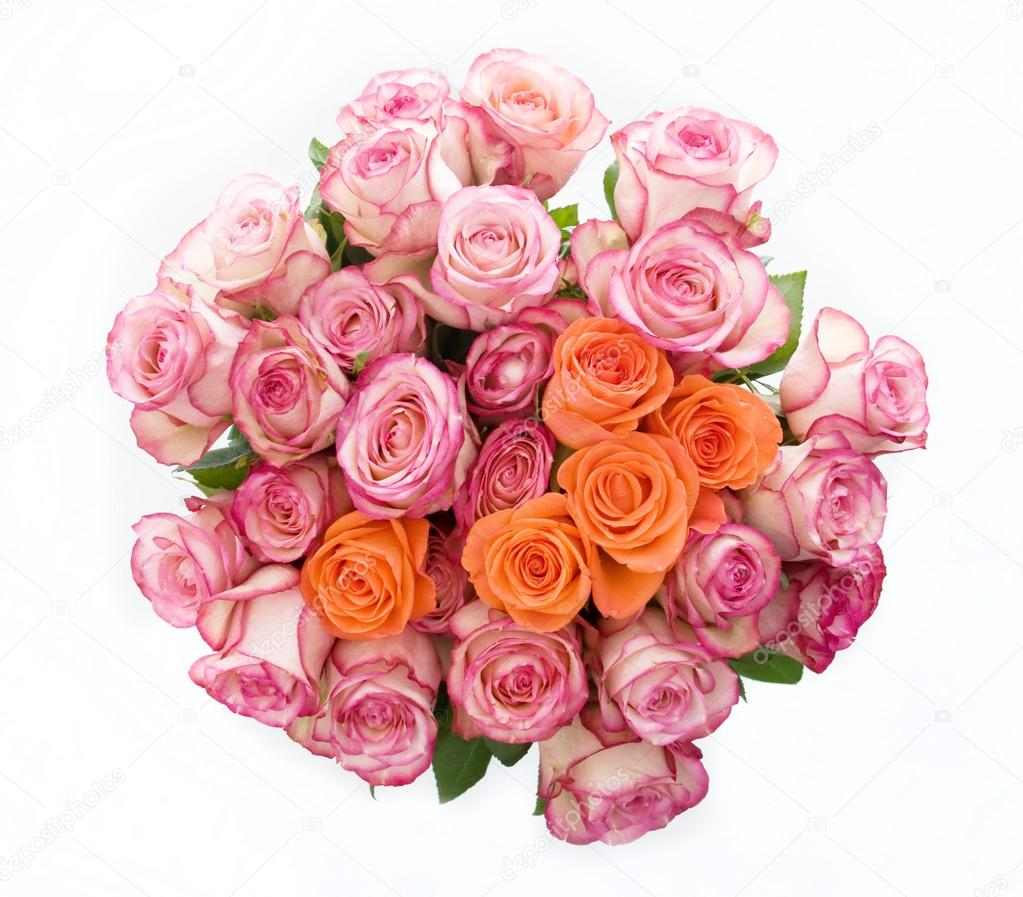 Bunch Of Pink Roses Stock Photo Kitigan 40290799