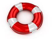 3d Lifebuoy isolated