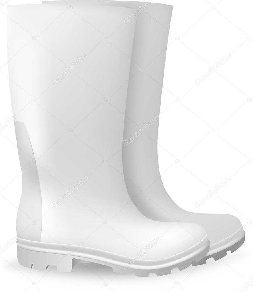White blank safety rubber boots template stock vector barghest white blank safety rubber boots template stock vector maxwellsz