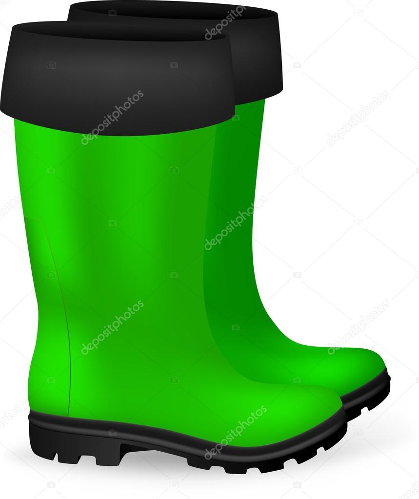 Blank safety rubber boots template stock vector barghest 42487759 blank safety rubber boots template stock vector maxwellsz