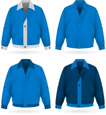 Plainblue  jacket template.