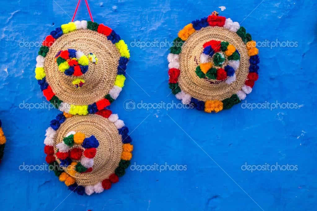 encanto de costo otra oportunidad en pies imágenes de Sombreros marroquíes — Foto de stock © sabinoparente #32788147